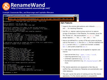 RenameWand screenshot